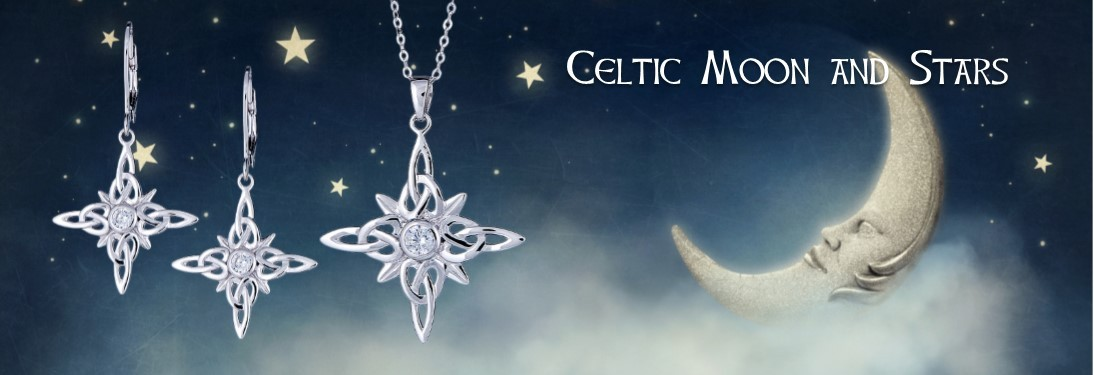 Celtic Moon & Stars