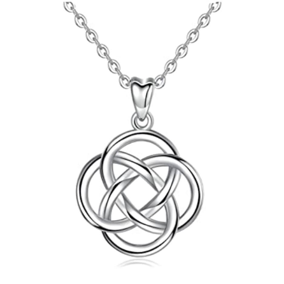 Norse Jewelry Celtic Jewelry Irish Jewelry Ireland Gift Birthstone Jewelry Friendship Gift Trinity Knot Necklace Scotland Jewelry