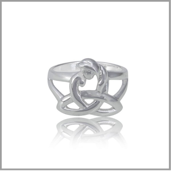 Celtic Mothers Knot Ring Celtic Mothers Knot Jewelry Celtic
