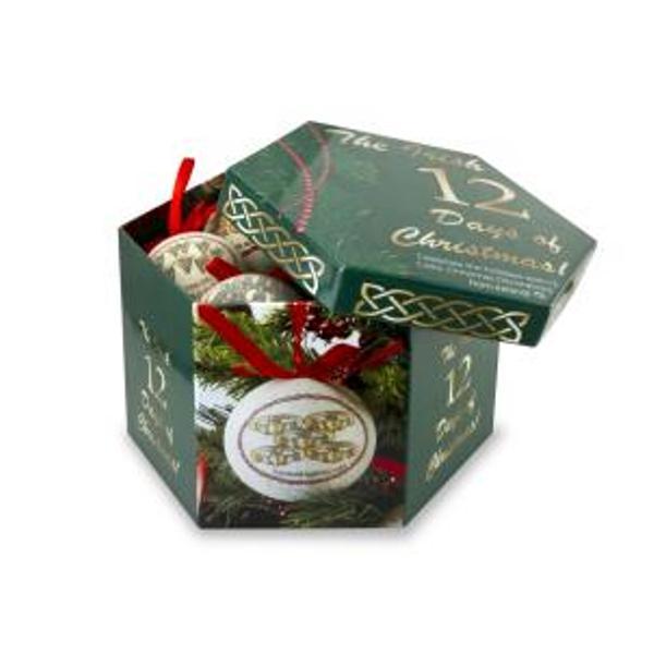 12 Days Of Irish Christmas Ornament Gift Set 12 Days Of Christmas