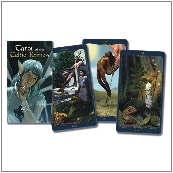 Celtic Faires Tarot Set Tarot Of The Celtic Fairies Deck