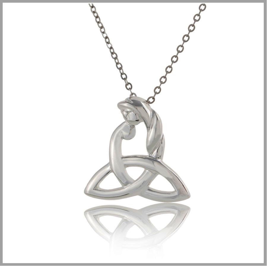 Celtic Mothers Knot Necklace Celtic Motherhood Jewelry