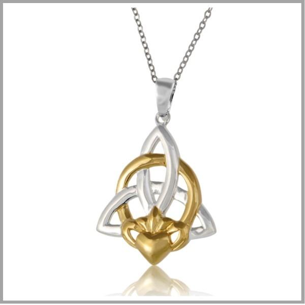 Celtic Knot Claddagh Jewelry Claddagh Trinity Knot