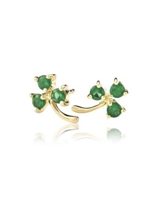 Green and Gold Shamrocks