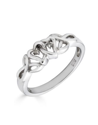 Irish Diamond Promise Ring