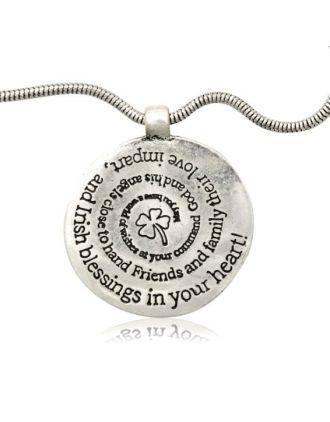 Irish Blessing Medallion