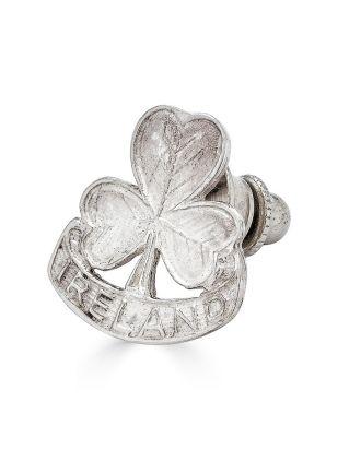 Ireland Shamrock Clutch Pin