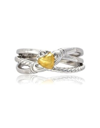 Crossover Claddagh Ring