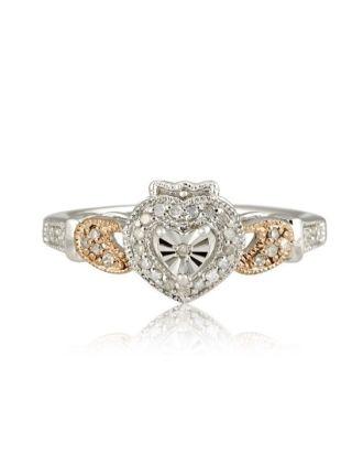 Edwardian Claddagh Ring
