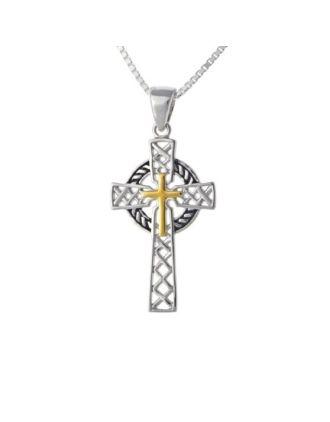 woven celtic cross