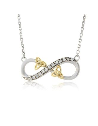 Infinity Love Knot Necklace