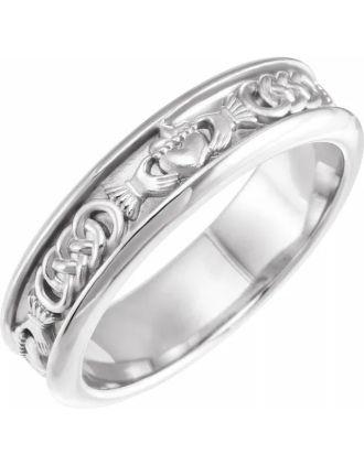 Celtic Claddagh Wedding Ring | Claddagh Wedding Ring