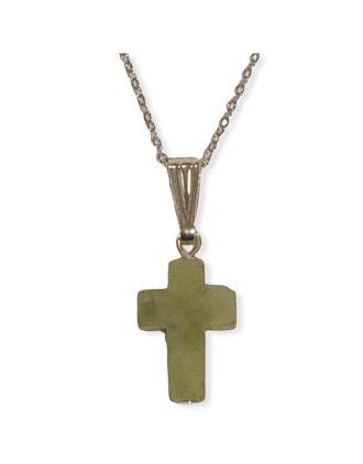 Connemara Marble Cross Pendant | Connemara Marble Cross