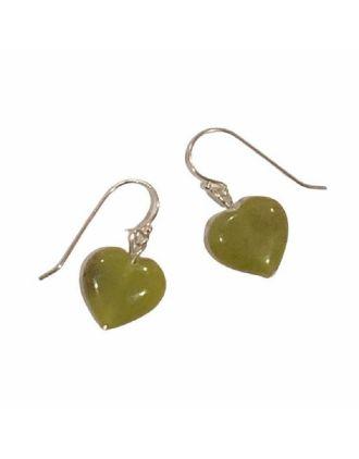 Connemara Marble Heart Earrings