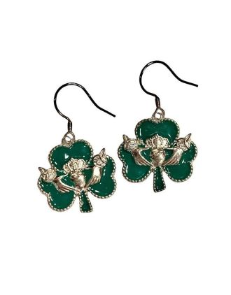 Shamrock St. Patrick's Day Earrings | St. Patrick's Day Earrings