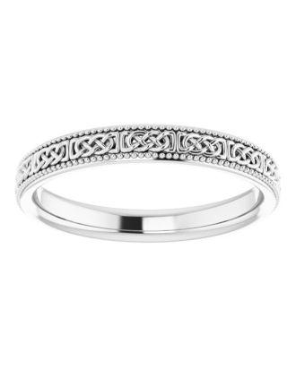 Celtic Knotwork Wedding Band | Celtic Wedding Band