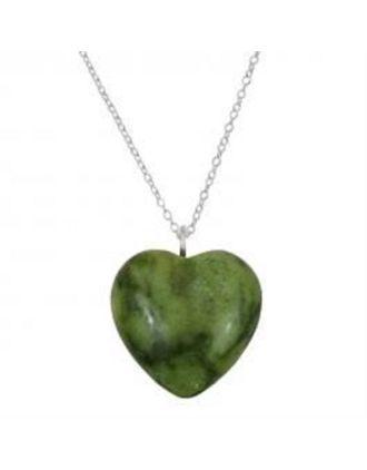 Heart of Connemara Necklace | Connemara Marble Heart Necklace