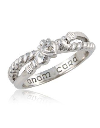 Aran Infinity Claddagh Ring