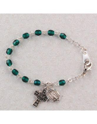 Children's Irish Rosary Bracelet