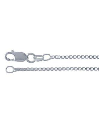 18 Inch Sterling Silver Box Chain
