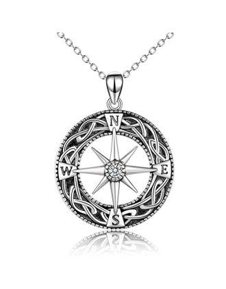 Celtic Compass Pendant