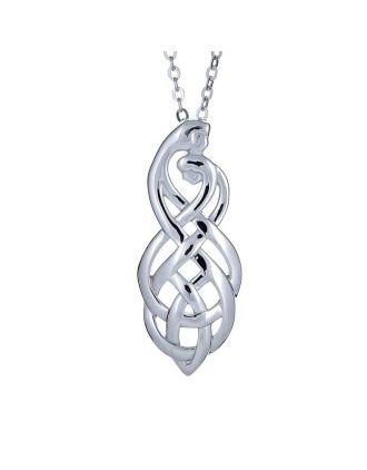 Celtic  Couples Knot Pendant