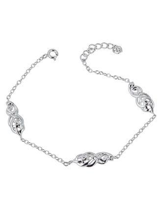 Celtic Couples Knot Bracelet