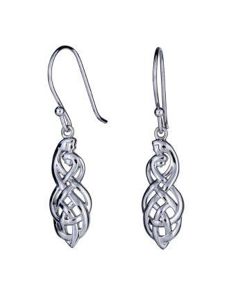 Celtic Couples Knot Earrings