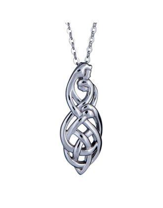 Celtic Family Knot Pendant : Family of Three