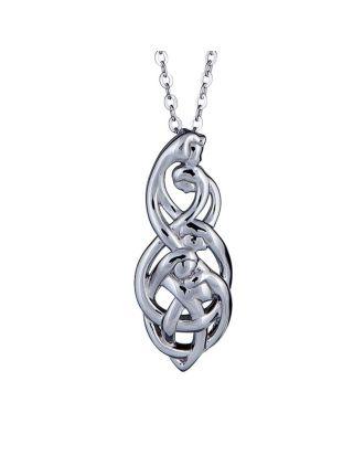 Celtic Family Knot Pendant : Family of Five