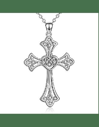 Celtic Heart Crosses - Celtic Cross with Heart