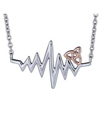 Celtic Heartbeat Necklace