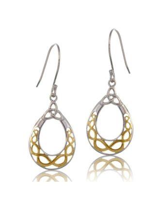 Celtic Knot Filigree Earrings