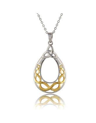 Celtic Knot Filigree Necklace