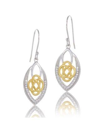 Celtic Friendship Knot earrings
