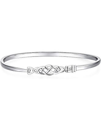 Celtic Knotwork Bangle Bracelet