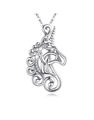 Celtic Unicorn Pendant