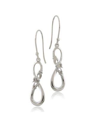 Infinity Claddagh Earrings
