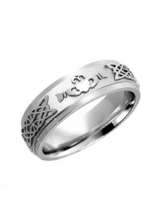 Claddagh Wedding Ring Sterling Silver