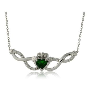 Claddagh Weave Necklace