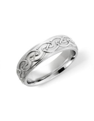 Comfort Fit Celtic Knot Ring | Celtic Knot Wedding Ring
