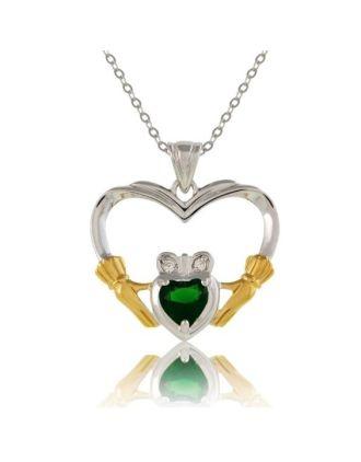 My Emerald Claddagh Heart