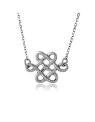Celtic Eternity Knot Necklace