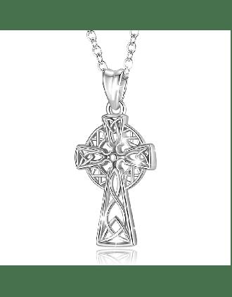 filigree Celtic Knot Cross