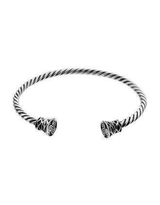 Celtic Torc Cuff Bracelet