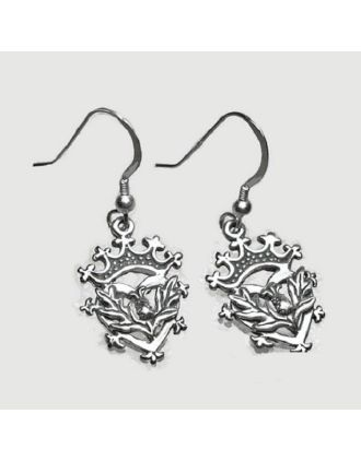 Antique Scottish Luckebooth Earrings