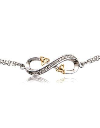 Infinity Love Knot - Celtic Infinity Love Knot Bracelet