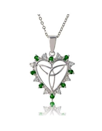 Irish Love Knot Heart