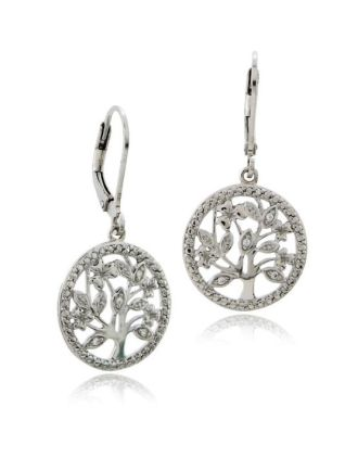 Irish Tree of Life Earrings