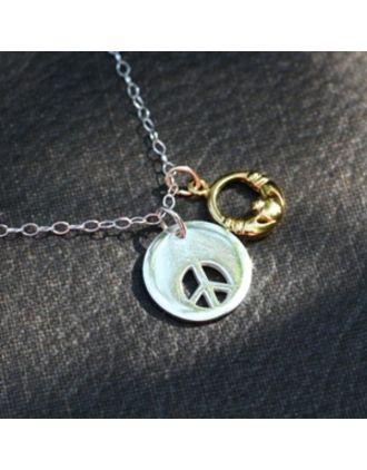 Irish Peace necklace